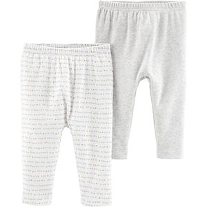 Baby Neutral Little Planet Organic by Carter's 2-Pack Pants