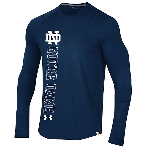 Men's Notre Dame Fighting Irish Sideline Long Sleeve Training Tee