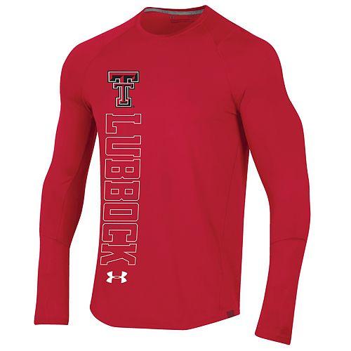 Men's Texas Tech Red Raiders Sideline Long Sleeve Training Tee