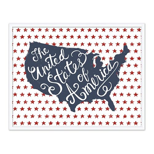 Artissimo Designs The United States Of America Wall Decor