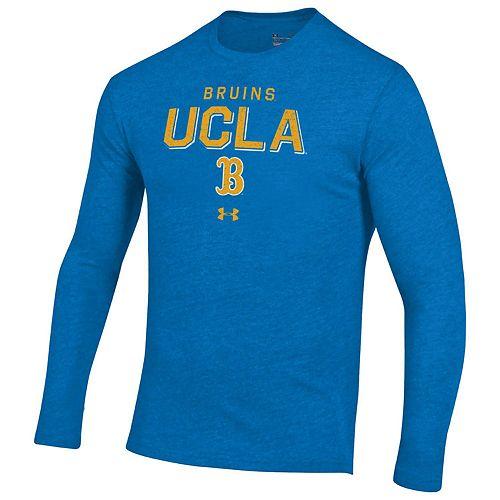 Men's UCLA Bruins Triblend Long Sleeve Tee