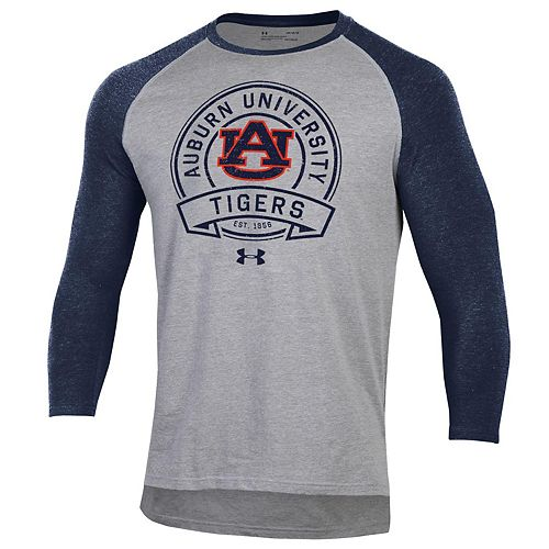 Men's Auburn Tigers Charged Cotton Baseball Tee