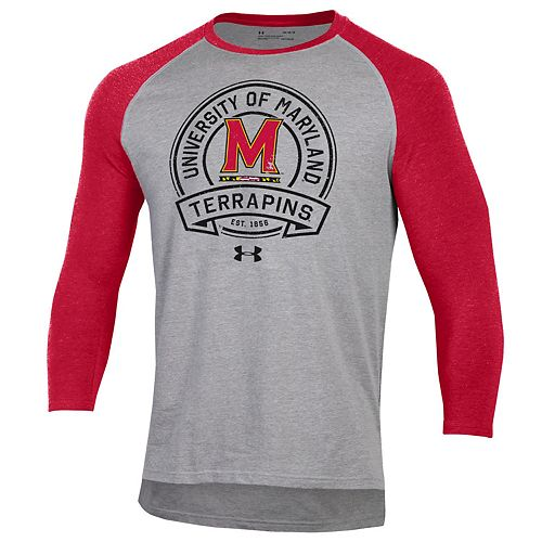 Men's Maryland Terrapins Charged Cotton Baseball Tee