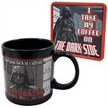 Star Wars Darth Vader Ceramic Mug & Coaster Combo Pack by ICUP