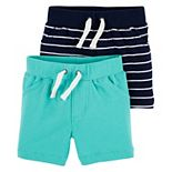 Baby Boy Carter's 2-Pack Pull-On Shorts
