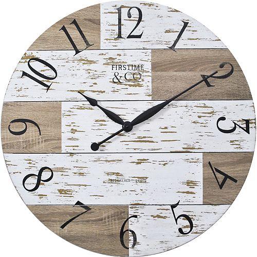 FirsTime & Co. Harper Pallets Wall Clock