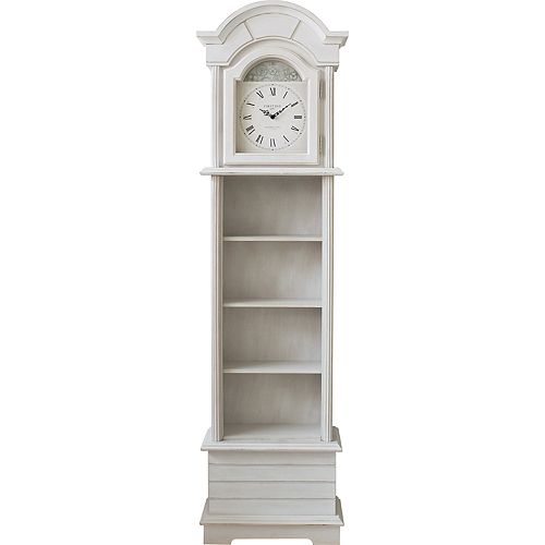 FirsTime & Co. Shiplap Grandfather Clock