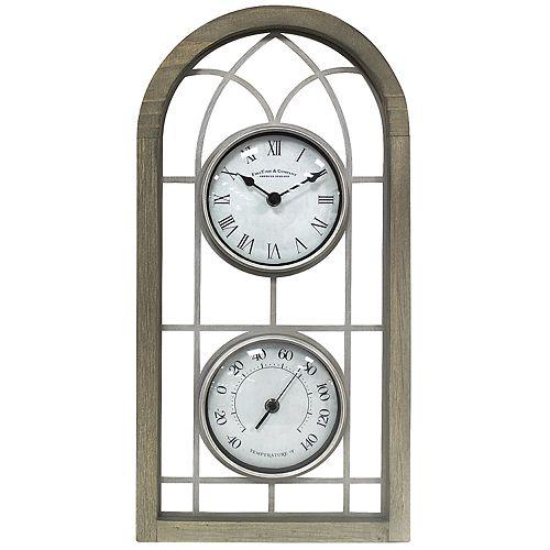 FirsTime & Co. Farmhouse Arch Wall Clock