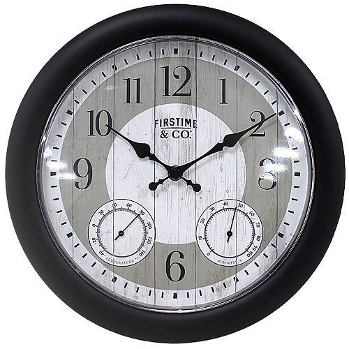 FirsTime & Co. Summer Cottage Wall Clock