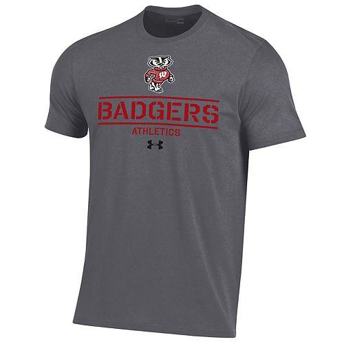 Men's Wisconsin Badgers Performance Short Sleeve Tee
