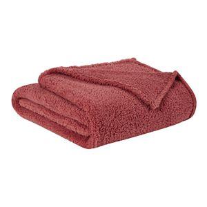 Brooklyn Loom Marshmallow Sherpa Blanket