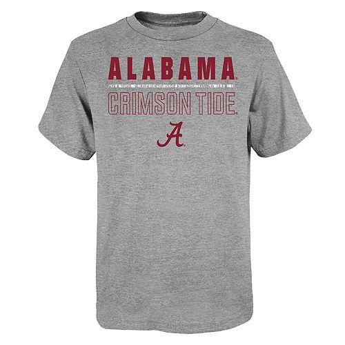 """Boy's 4-20 NCAA Alabama Crimson Tide """"Launch"""" Short Sleeve Tee"""