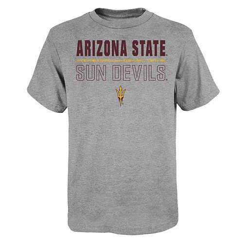 "Boy's 4-20 NCAA Arizona State Sun Devils ""Launch"" Short Sleeve Tee"