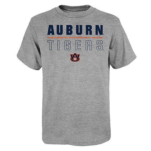 """Boy's 4-20 NCAA Auburn Tigers """"Launch"""" Short Sleeve Tee"""