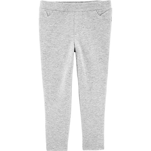 Baby Girl Carter's Sparkly Pull-On Jeggings
