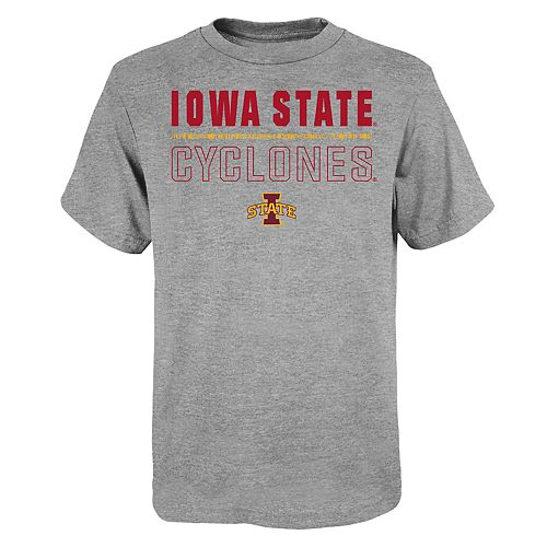 "Boy's 4-20 NCAA Iowa State Cyclones ""Launch"" Short Sleeve Tee"