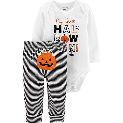 Baby Carter's Halloween Bodysuit & Pant Set
