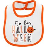 Baby Carter's First Halloween Teething Bib