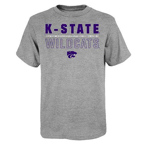 "Boy's 4-20 NCAA Kansas State Wildcats ""Launch"" Short Sleeve Tee"