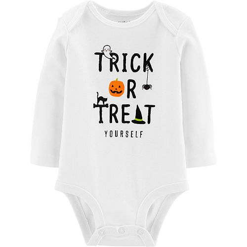 Baby Carter's Trick Or Treat Yourself Collectible Bodysuit