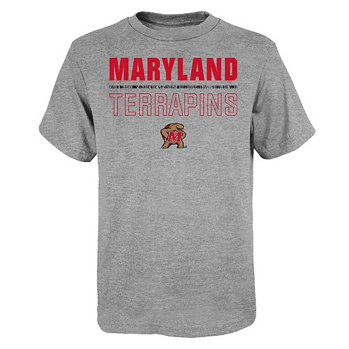 """Boy's 4-20 NCAA Maryland Terrapins """"Launch"""" Short Sleeve Tee"""