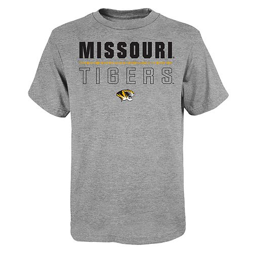"Boy's 4-20 NCAA Missouri Tigers ""Launch"" Short Sleeve Tee"