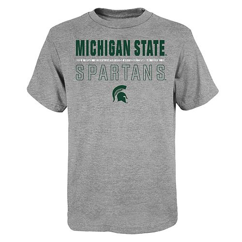 "Boy's 4-20 NCAA Michigan State Spartans ""Launch"" Short Sleeve Tee"