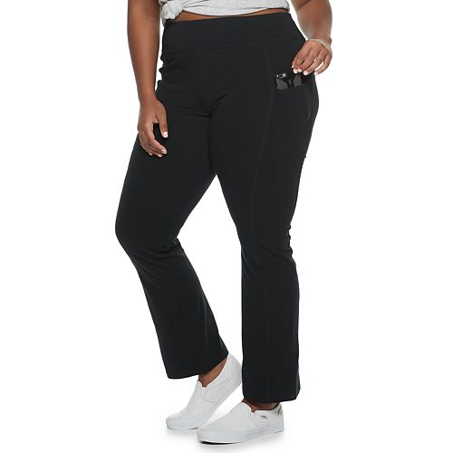 Juniors' Plus Size SO® Pull-On Skinny Bootcut Pants