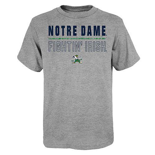 "Boy's 4-20 NCAA Notre Dame Fighting Irish ""Launch"" Short Sleeve Tee"