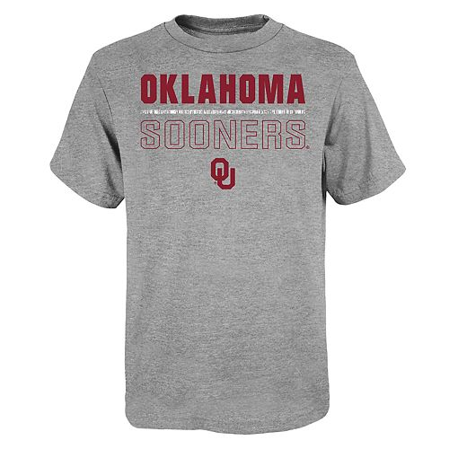 "Boy's 4-20 NCAA Oklahoma Sooners ""Launch"" Short Sleeve Tee"
