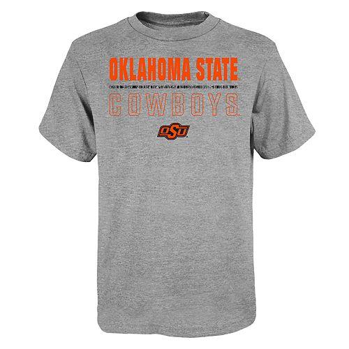 "Boy's 4-20 NCAA Oklahoma State Cowboys ""Launch"" Short Sleeve Tee"