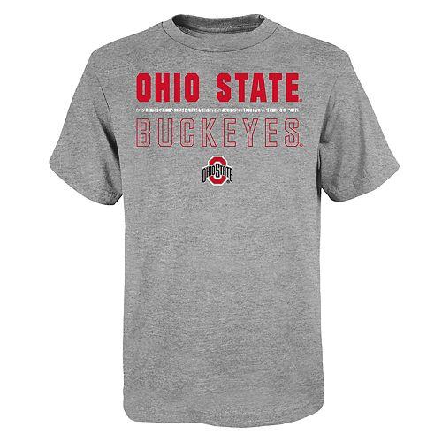"Boy's 4-20 NCAA Ohio State Buckeyes ""Launch"" Short Sleeve Tee"