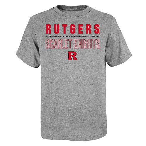 "Boy's 4-20 NCAA Rutgers Scarlet Knights ""Launch"" Short Sleeve Tee"