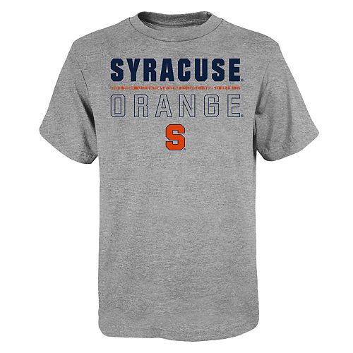 """Boy's 4-20 NCAA Syracuse Orange """"Launch"""" Short Sleeve Tee"""