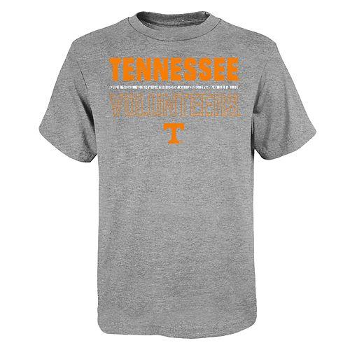 """Boy's 4-20 NCAA Tennessee Volunteers """"Launch"""" Short Sleeve Tee"""