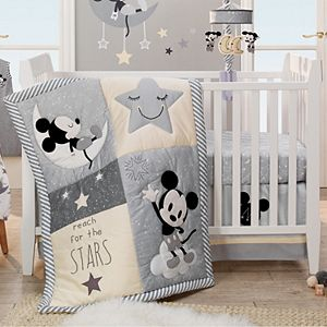 Disney's Mickey Mouse 4 Piece Crib Bedding Set by Lambs & Ivy