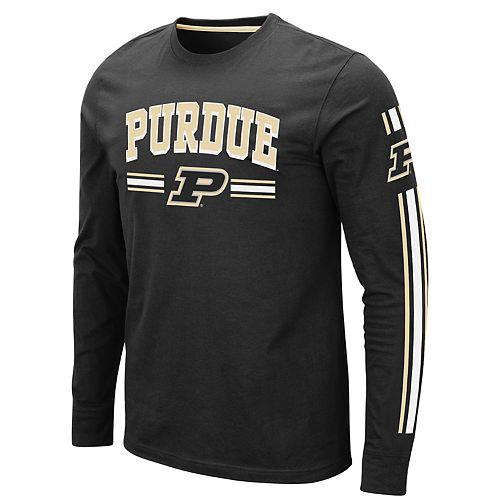 Men's NCAA Purdue Boilermakers Pikes Peak Long Sleeve Tee