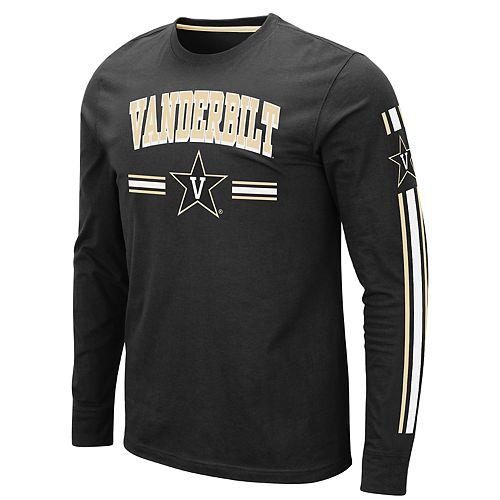 Men's NCAA Vanderbuilt Long Sleeve Tee