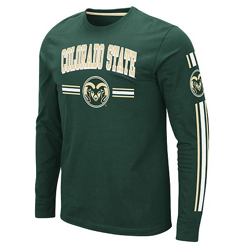 Men's NCAA Colorado State Long Sleeve Tee