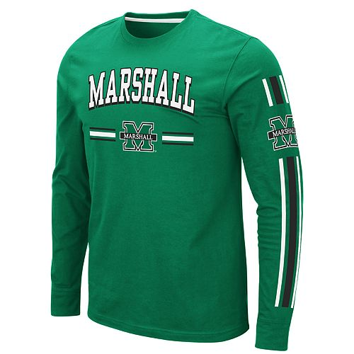 Men's NCAA Marshall University Long Sleeve Tee