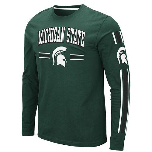 Men's NCAA Michigan State Long Sleeve Tee