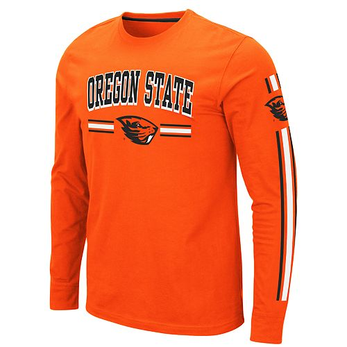 Men's NCAA Oregon State Beavers Long Sleeve Tee