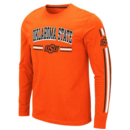 Men's NCAA Oklahoma State Long Sleeve Tee