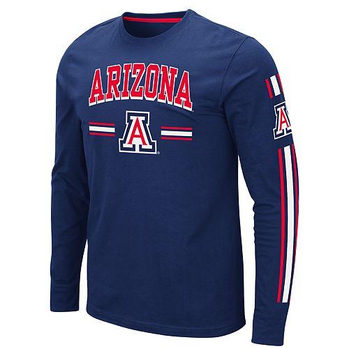 Men's NCAA Arizona Wildcats Long Sleeve Tee