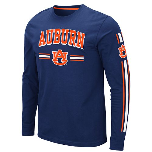 Men's NCAA Auburn Tigers Pikes Peak Long Sleeve Tee