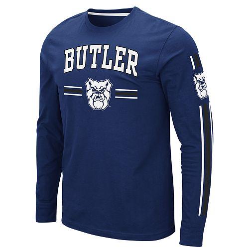 Men's NCAA Butler Bulldogs Pikes Peak Long Sleeve Tee