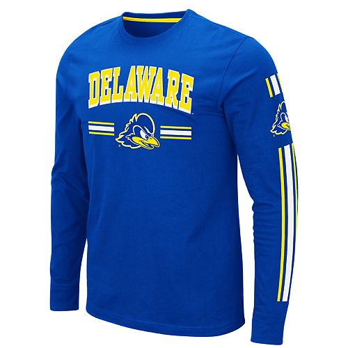 check out f4e58 a8c96 Mens NCAA Delaware Blue Hens Mens Pikes Peak LS Tee