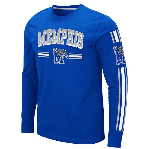 Men's NCAA Memphis Tigers Pikes Peak Long Sleeve Tee