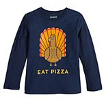Boys 4-12 Jumping Beans® Eat Pizza Turkey Tee