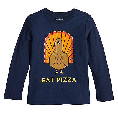 Boys 4-12 Jumping Beans® Eat Pizza Turkey Tee